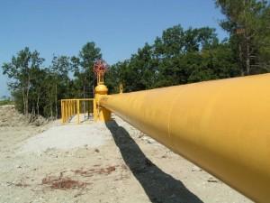 Газ на участке