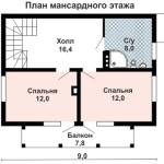 Дом с отделкой