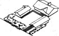 Постройки и посадки на участке